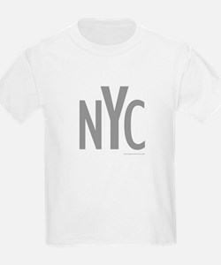 NYC (Grey) - Kids T-Shirt