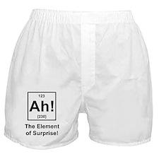 """""""Ah, The Element of Surprise"""" Boxer Shorts"""