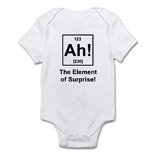 """Ah, The Element of Surprise"" Infant Bodysuit"