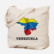 Map Of Venezuela Tote Bag