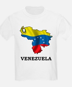 Map Of Venezuela T-Shirt