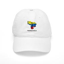 Map Of Venezuela Baseball Cap