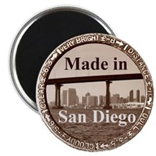 Cute Made in san diego Magnet