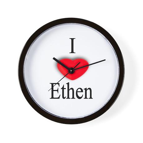 Ethen Wall Clock