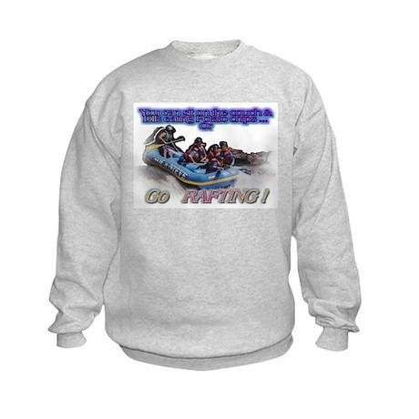Go Rafting Kids Sweatshirt