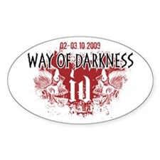 Way of Darkness Oval Decal