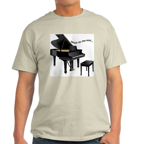 Music for the Soul Ash Grey T-Shirt