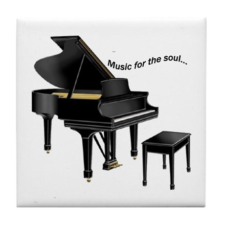 Music for the Soul Tile Coaster