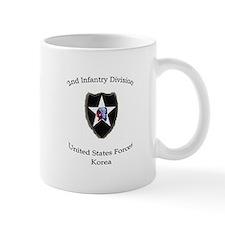 2ND INF DIV Small Mug