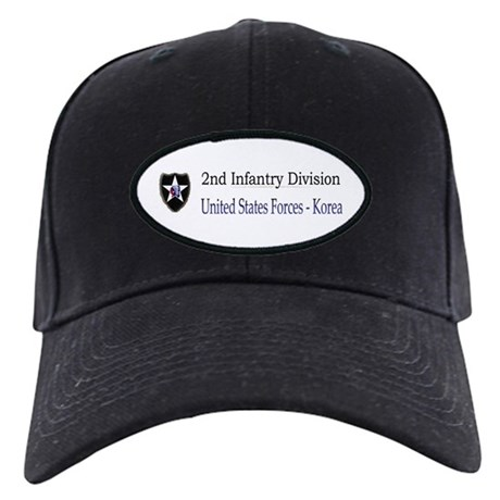 2ND INF DIV Black Cap