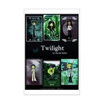 Twilight Blue Mini Poster Print