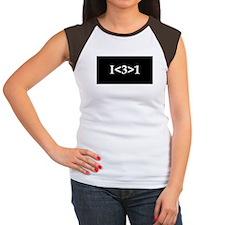 I<3>1 Women's Cap Sleeve T-Shirt