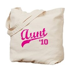 aunt to be t-shirts 2010 Tote Bag