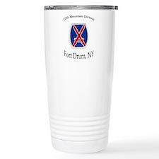 10TH MOUNTIAN DIV Travel Mug