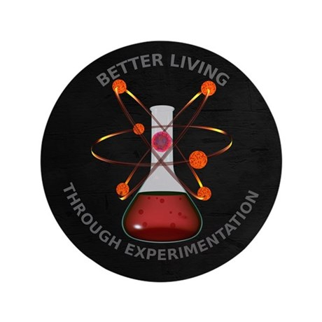 "Better Living Experimentation 3.5"" Button"