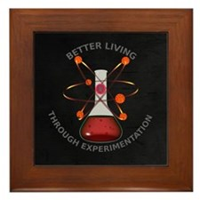 Better Living Experimentation Framed Tile
