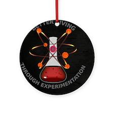 Better Living Experimentation Ornament (Round)
