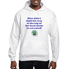 Anti-vegitarian Hoodie