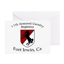 11TH ARMORED CAVALRY REGIMENT Greeting Cards (Pk o