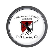 11TH ARMORED CAVALRY REGIMENT Wall Clock