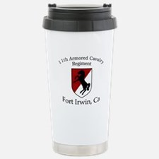 11TH ARMORED CAVALRY REGIMENT Travel Mug