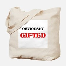 GIFTED AND MODEST TOO Tote Bag