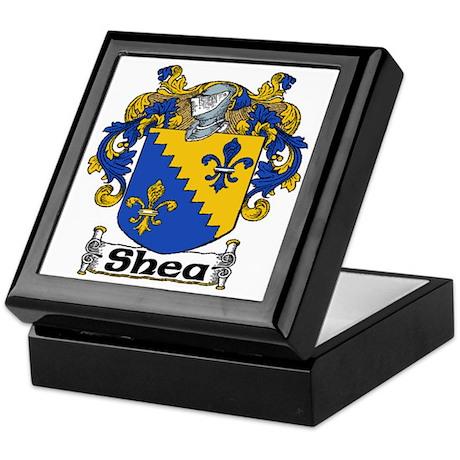 Shea Coat of Arms Keepsake Box