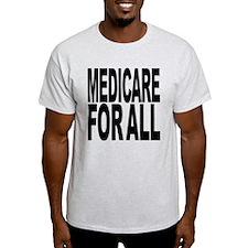 Medicare For All Light T-Shirt