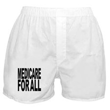 Medicare For All Boxer Shorts