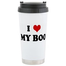 I Love MY BOO Travel Mug