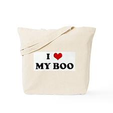 I Love MY BOO Tote Bag