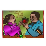 African American Christmas Postcards (Package of 8