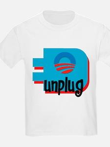 Unplug Obama Logo T-Shirt