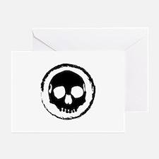 Tribal Skull Greeting Cards (Pk of 10)