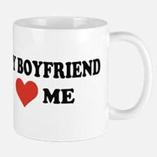 My boyfriend loves me Mug