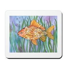 Fancy Goldfish Mousepad