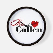 Mrs. Edward Cullen Wall Clock