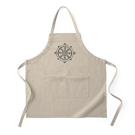 Dharma Wheel BBQ Apron