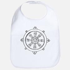 Dharma Wheel Bib