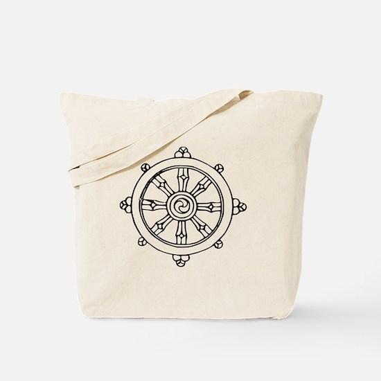 Dharma Wheel Tote Bag