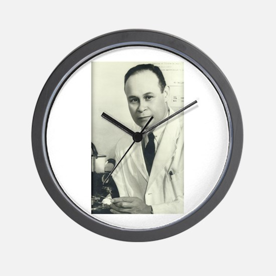 Dr. Charles Drew Wall Clock