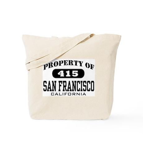 Property of San Francisco Tote Bag