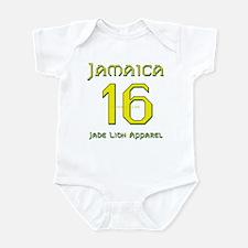 Team Jamaica - #16 Infant Bodysuit