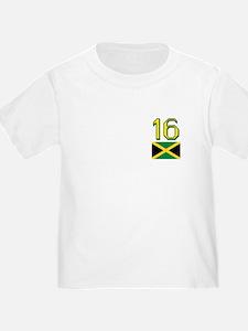 Team Jamaica - #16 T