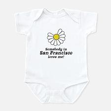 Somebody in San Francisco Loves Me Infant Creeper