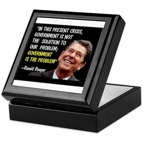 AMERICA'S GREATEST PRESIDENT Keepsake Box