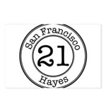 21 Hayes Postcards (Package of 8)