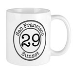 Circles 29 Sunset Mug