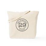 Circles 29 Sunset Tote Bag