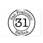 Circles 31 Balboa Postcards (Package of 8)